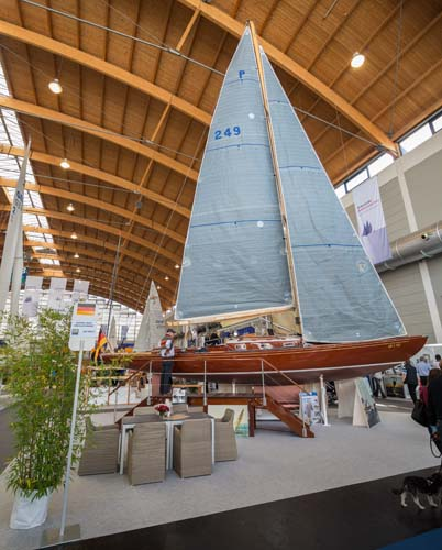 45er Nationaler Kreuzer auf der Interboot 2015
